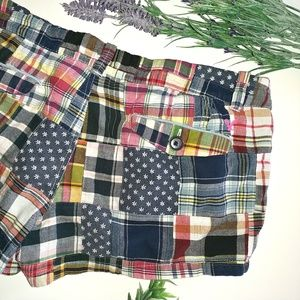 American Eagle Outfitters Shorts - American Eagle Shorts Patchwork Size 8 Plaid Cute